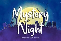 Mystery Night Helloween Font Product Image 1