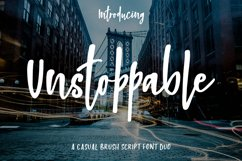 Unstoppable Font Duo Product Image 1