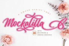 Mockalilla- A Swash Script Font Product Image 1