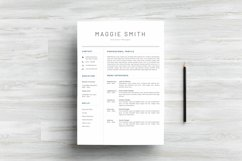 NEW Professional RESUME TEMPLATE BONUS Cover Letter Product Image 2