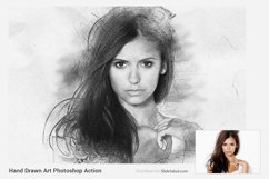 Hand Drawn Art Photoshop Action Product Image 4