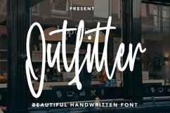 Web Font Outfitter - Handwritten Font Product Image 1