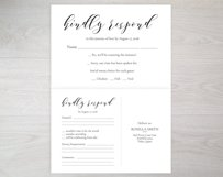 RSVP cards, TOS_42 Product Image 3