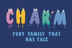 Charm - illustrated letter font Product Image 2