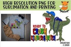 T-Rex Dinosaur Ready To Crush Kindergarten Sublimation Product Image 1