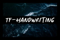 TF-Handwriting Pack Product Image 2
