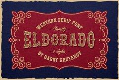 Eldorado Western Serif Font Product Image 1