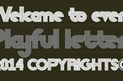 Nedo typeface layout 7