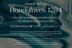 Deep Lake Font Product Image 2