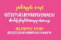 JackApple - A Tasty Font Duo Product Image 2