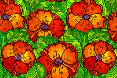 8 red poppy flowers backgrounds Product Image 2