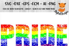 LGBT SVG - png - eps - dxf - ai - fcm - Gay Pride SVG - Silhouette - Cricut - Scan N Cut - Love is Love SVG Product Image 1