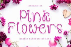 Pink Flowers Product Image 1