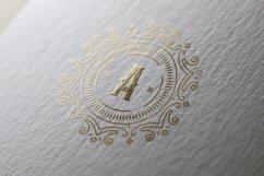 Vintage Monogram Alphabet Letters Product Image 2