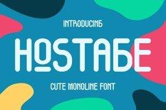 Web Font Hostage Font Product Image 1