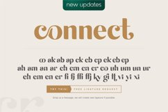 michael beautiful ligature font Product Image 4