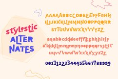 Breaking Rules - new quirky playful and funny font family. Product Image 6