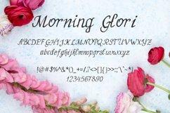 MorningGlori Font Product Image 2
