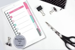Stylish Pink and Green Five Subject Digital Notebook Product Image 2