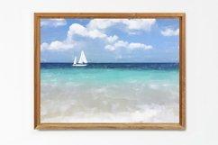 Sailboat - Watercolor - Wall Art - Digital Print Product Image 4