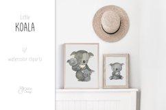 Koala clipart. Watercolor Australian animal clip art. Product Image 5