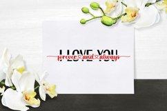 I Love You Forever & Always - Cut File SVG, PNG, JPEG Product Image 3