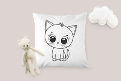 Cute kitten clipart, SVG, PNG, EPS Product Image 4