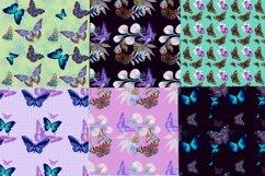 Mini bundle of watercolor seamless patterns.Digital paper Product Image 3
