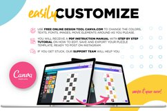 Colorful Instagram Puzzle Template for Canva Product Image 2