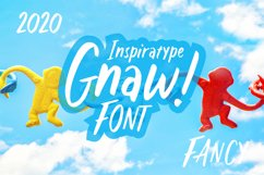 Gnaw - Kid's Fancy Font Product Image 1