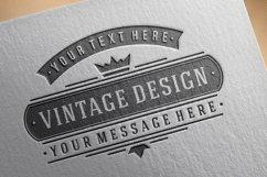 Vintage Design Elements Set Product Image 6