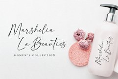 La Beauties-Casual Handwritten Font Product Image 5