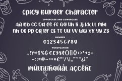 Spicy Burger - Delicious Unique Font Product Image 6