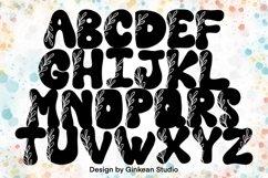 Alphabet brushes, 26 Alphabets brush stamp procreate, leaf Product Image 4