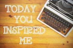 RAGDOLL Font Duo - Stamp Typewriter Font  Product Image 6