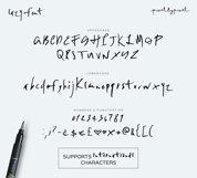 Lazy  Font Product Image 6