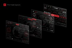 Futuristic UI Kit 200 design elements Product Image 2