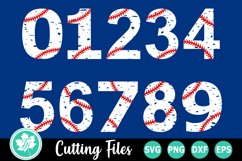 Grunge Baseball - A Sports SVG Cut File Product Image 1