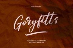 Goryfitts Signature Script Font Product Image 1