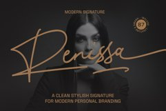 Renissa Signature Font Product Image 1