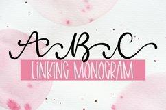 Web Font Linking Monogram Font - Linking Letters Product Image 1