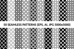 50 Seamless Square Patterns AI, EPS, JPG 5000x5000 Product Image 1