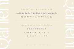Qarlient - An Elegant Modern Display Font Product Image 5