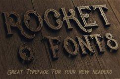 Rocket- Vintage Style Font Product Image 5
