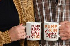 Pumpkin Spice SVG Bundle - Tumblers, Frames, and More! Product Image 3