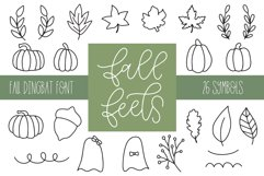 Fall Feels, Fall Doodle Font Product Image 1