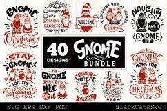 Christmas Gnomes SVG bundle Gnome bundle SVG 40 designs Product Image 2