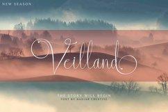 Veilland - Fancy Script Font Product Image 1