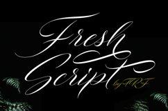 Fresh Script Product Image 1