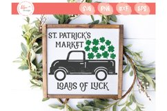 St. Patrick's Market - Loads Of Luck SVG Cut Files Product Image 1